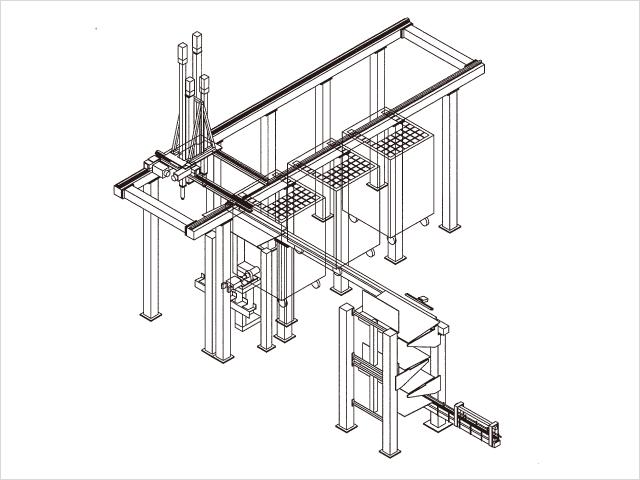 紙管自動供給装置